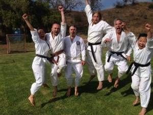 SF dojo members after Summer Special Training West 2014